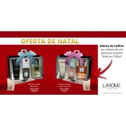 Oferta Coffret na compra de um perfume Larome 50ml ou 100ml