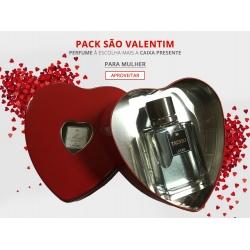 Pack Larome Dia dos Namorados Perfume + Caixa Presente Mulher